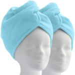 ELEXACARE Haarturban (2 Stück, blau)