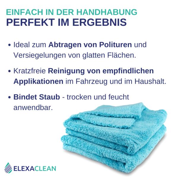 ELEXACLEAN Poliertuch & Staubtuch, Mikrofaser