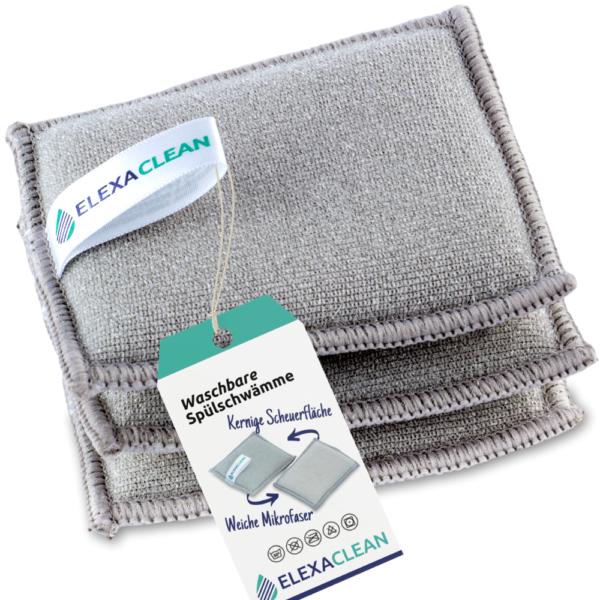 ELEXACLEAN Spülschwamm waschbar