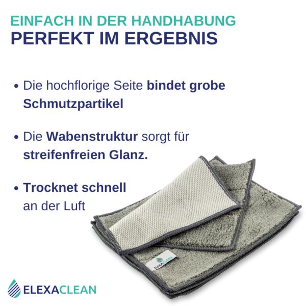 ELEXACLEAN Mikrofaser Spültücher, waschbar