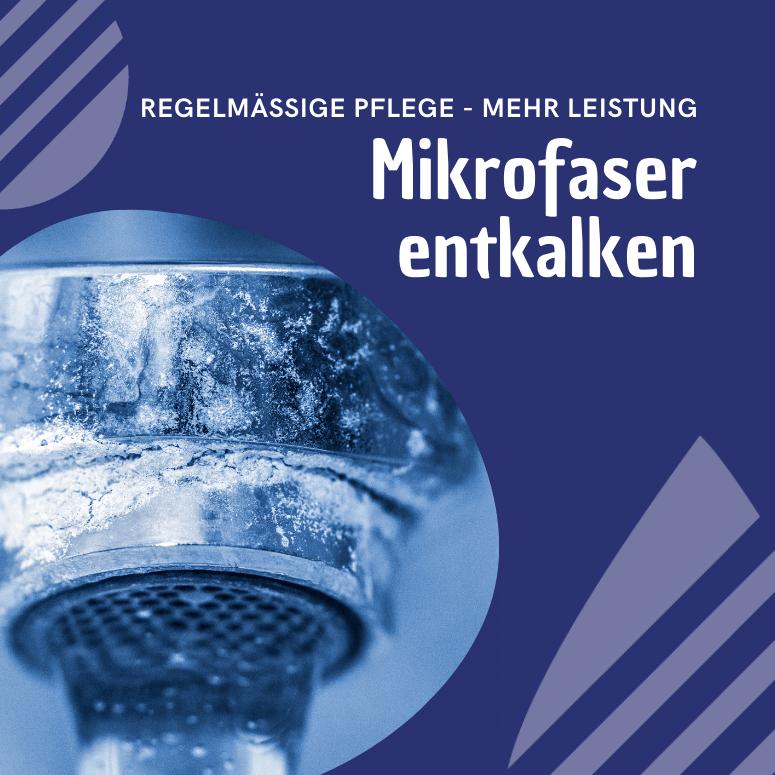 You are currently viewing Mikrofasertücher entkalken – Warum? Und wie geht das?